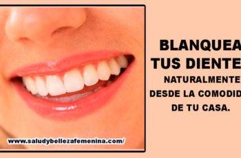 Blanquea tus dientes naturalmente desde la comodidad de tu casa.