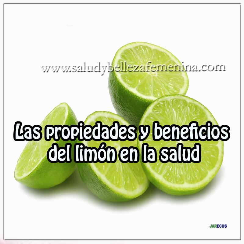 Las propiedades y beneficios del limón para la salud