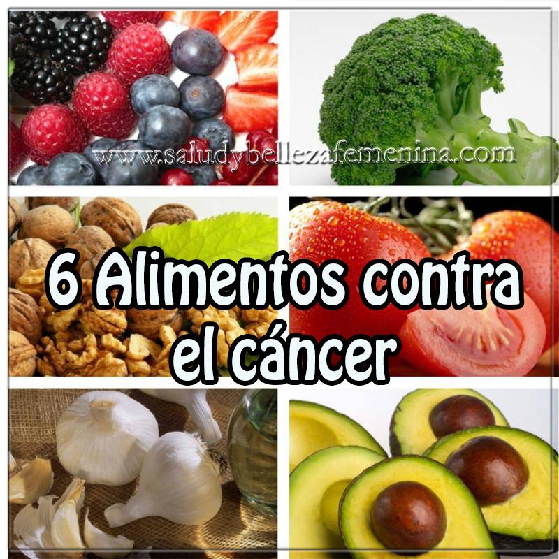 Salud y Nutrición,  alimentos contra el cáncer ,