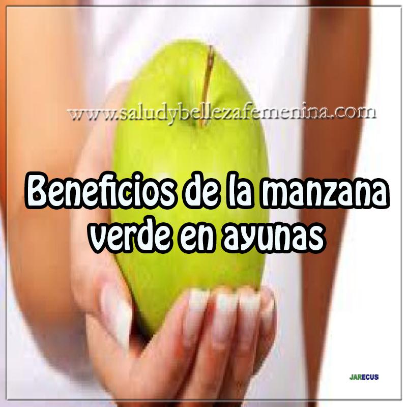 Dietas y nutrición, beneficios de la manzana verde en ayunas, manzana bajar peso, manzana en ayunas,