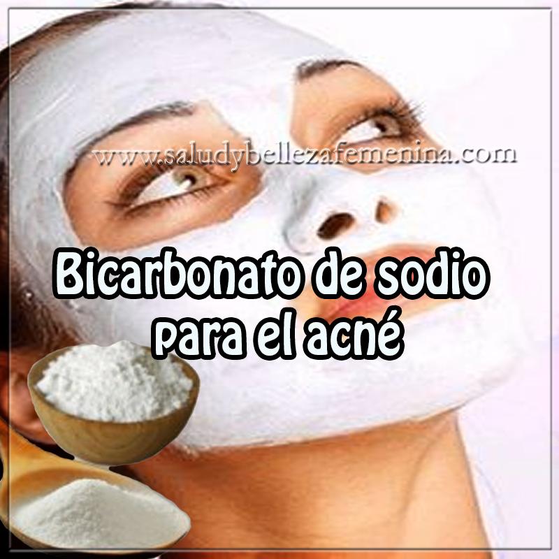 Mascaras faciales,  receta de bicarbonato de sodio  para el acné, tratamiento para el acné