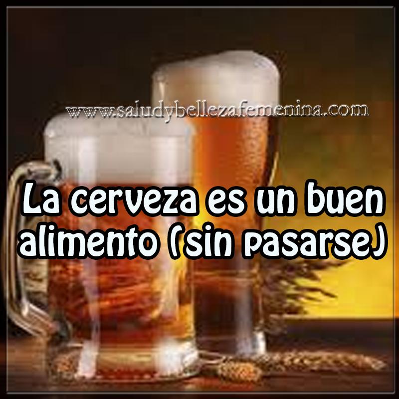 cerveza, cerveza un buen alimento -sin pasarse, propiedades de la cerveza, Salud y nutrición,