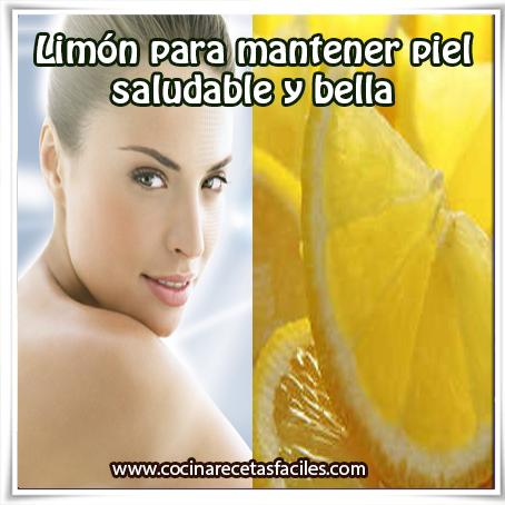 Belleza facial , cuidados del rostro , receta de remedio caseros de limón para la piel