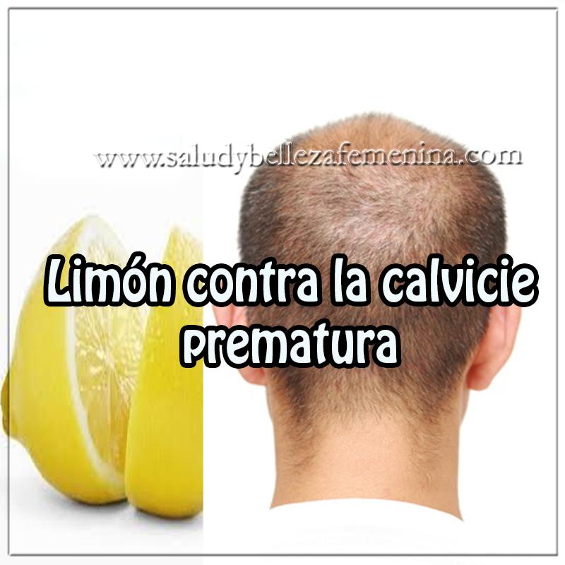 Remedios y tratamientos , cuidados del cabello , receta limón contra la calvicie prematura