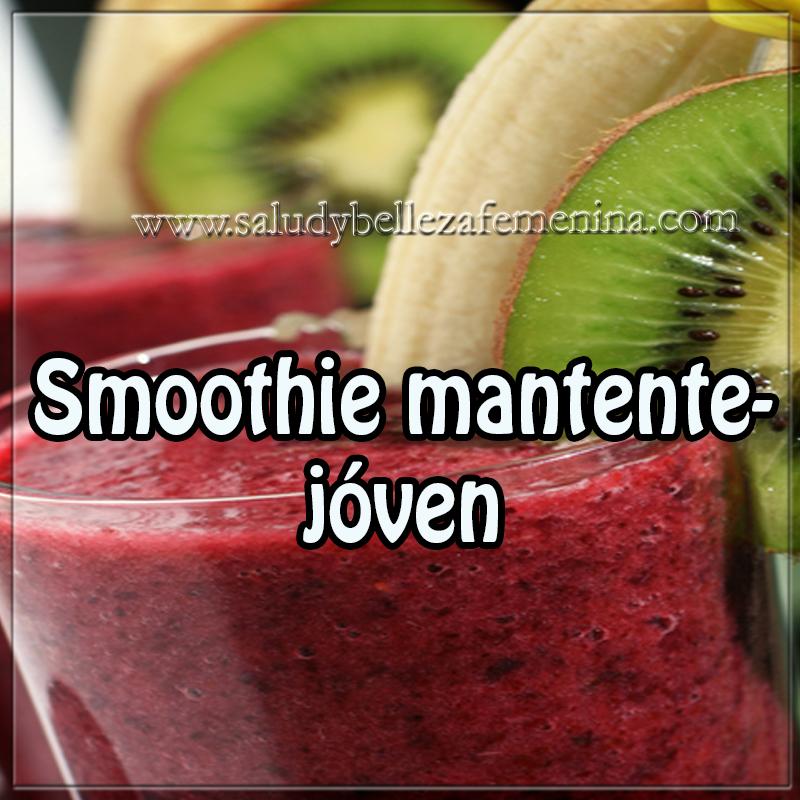 Bebidas saludables,  bebidas sanas , receta de smoothie para mantenerte joven,  alimentación , dietas , salud