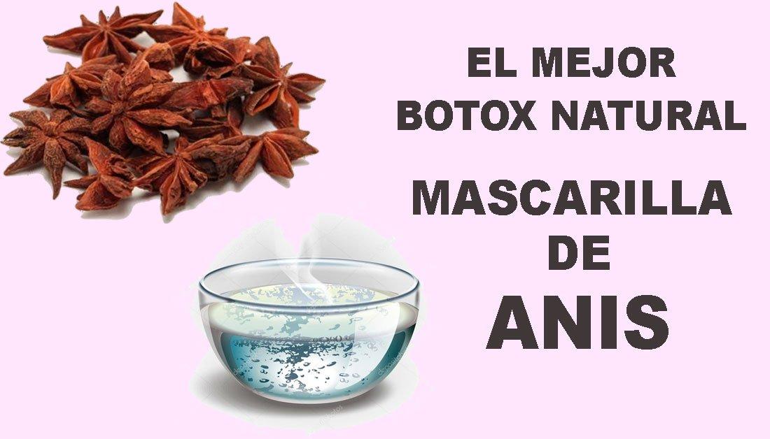 Anís, el mejor botox natural, consigue una piel sin arrugas de manera natural ¡gracias a las semillas de anís!