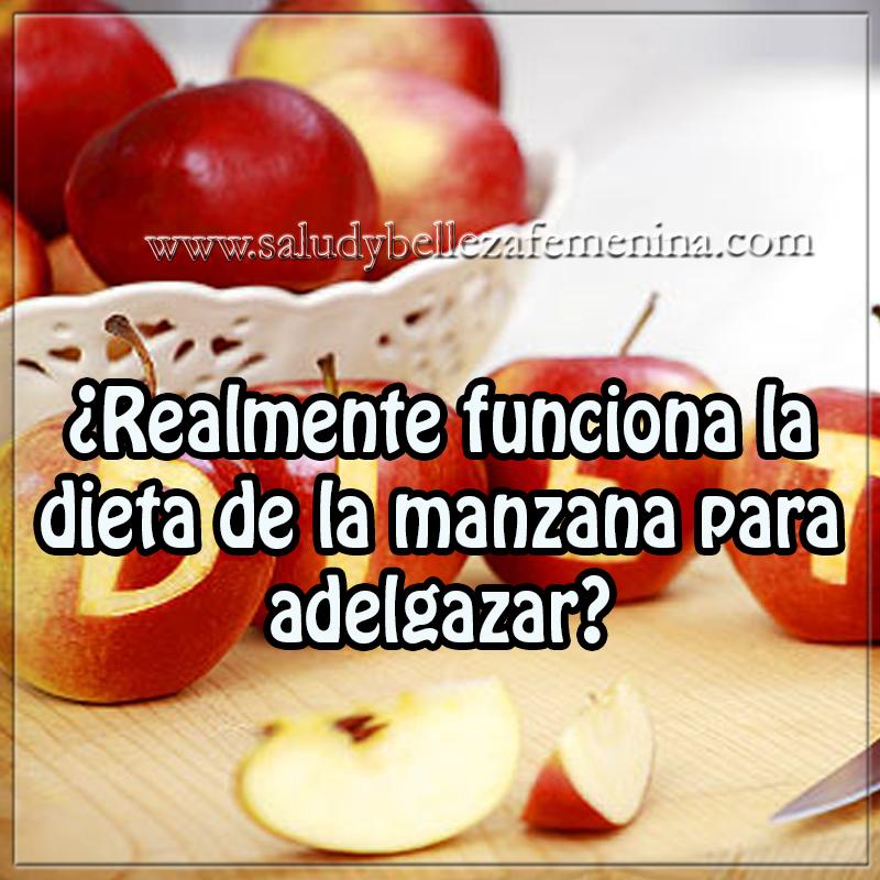 Dietas para adelgazar ,  realmente funciona la dieta de la manzana para adelgazar?, dieta de la manzana