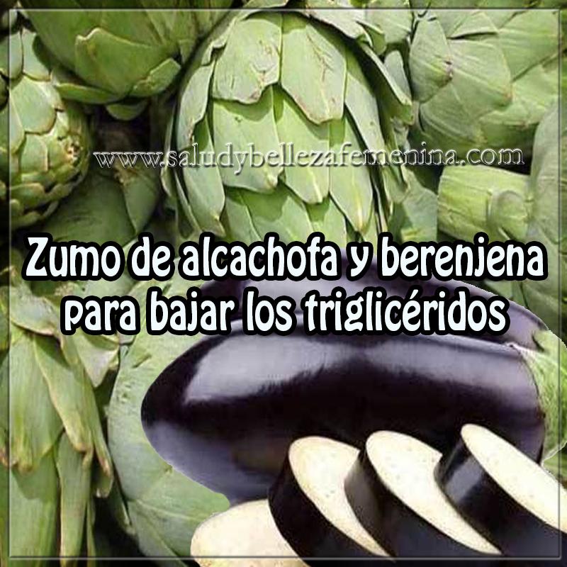 Bebidas para adelgazar,  salud , nutrición , remedios caseros , zumo de alcachofa y berenjena para bajar los triglicéridos