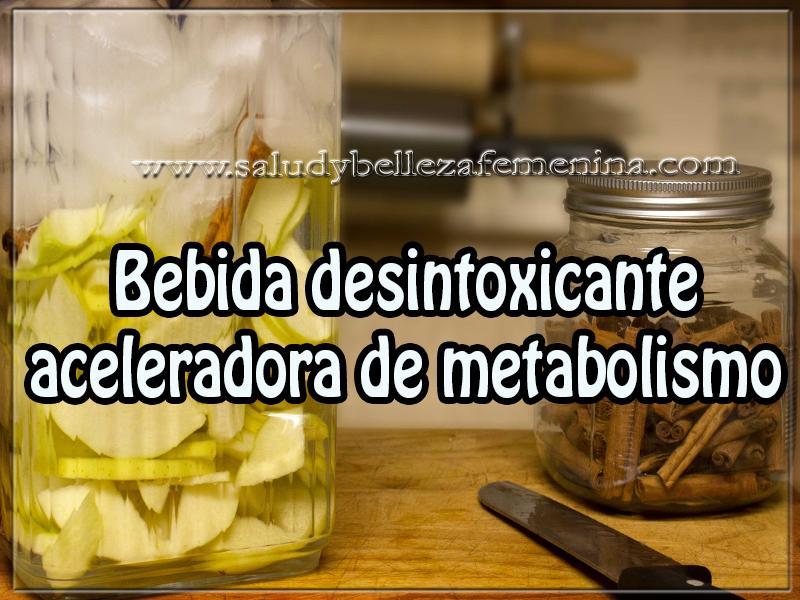 Bebidas para adelgazar , bebida desintoxicante  aceleradora de metabolismo