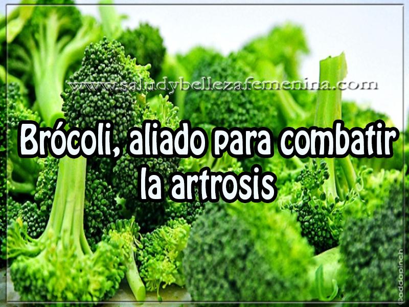 Salud y bienestar , brócoli, aliado para combatir la artrosis