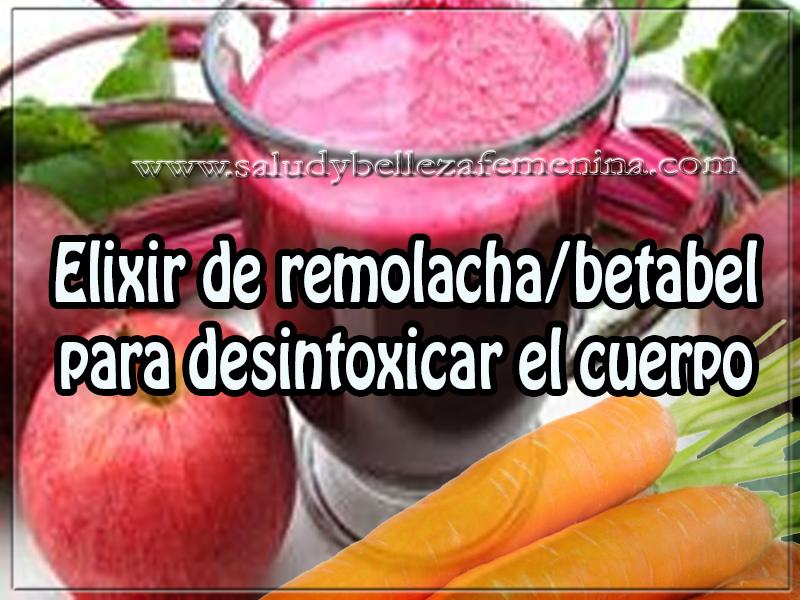 Bebidas para adelgazar , salud y bienestar , elixir de remolacha/betabel para desintoxicar el cuerpo