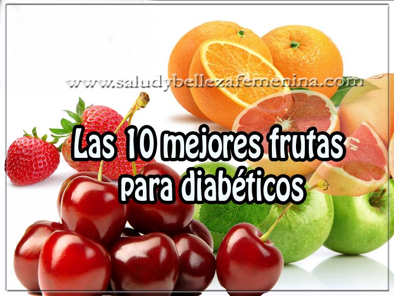 Salud y nutrición, las 10 mejores frutas  para diabéticos