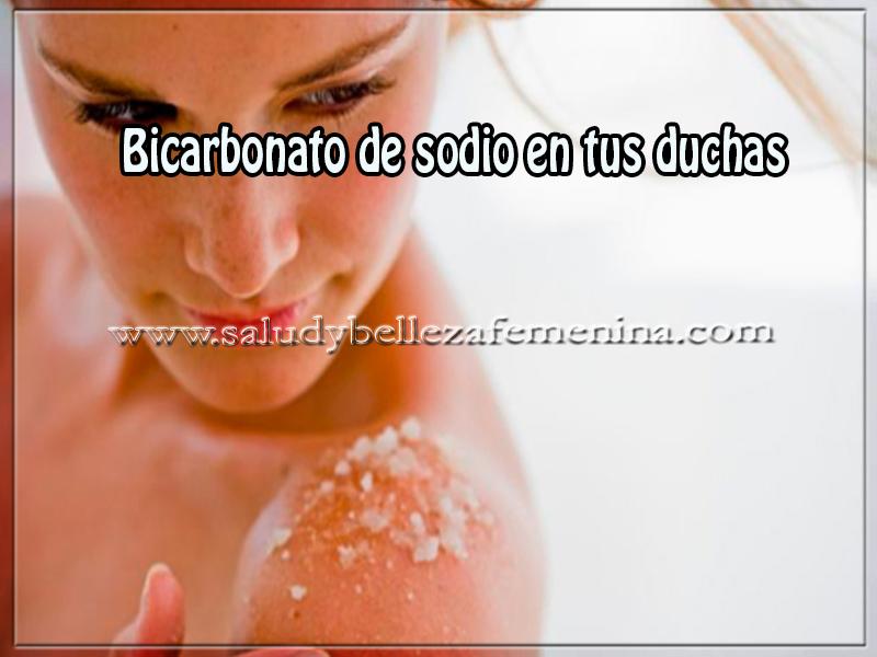 Salud y cuidado personal, bicarbonato de sodio en tus duchas