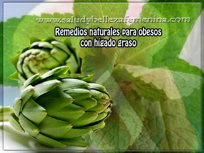 Remedios y tratamientos , salud , remedios naturales para obesos  con hígado graso