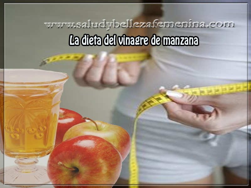 Dieta desintoxicante de vinagre de manzana