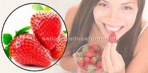3 Maneras de aprovechar las fresas en tu rutina de belleza