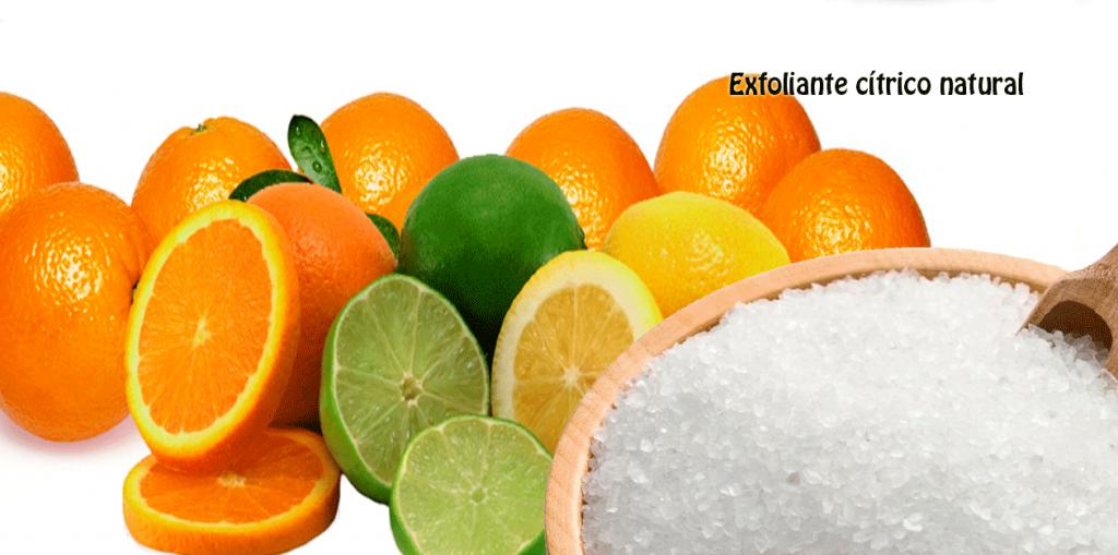Exfoliante cítrico natural - Salud y belleza