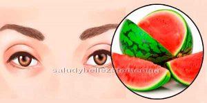 Previene enfermedades de la vista con sandia
