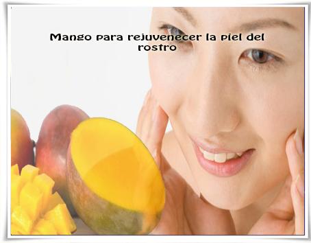 Belleza facial, cuidados del rostro, mango