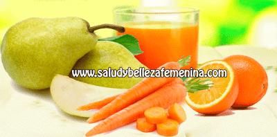 Bebidas saludables, receta para depurar