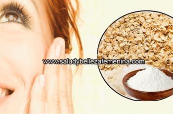 Mascarilla exfoliante de avena y bicarbonato - Mascarilla faciales caseras