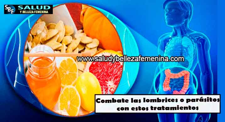 Combate las lombrices o parásitos con estos tratamientos