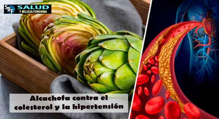 Alcachofa contra el colesterol y la hipertensión