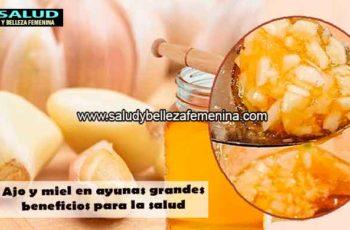 Ajo y miel en ayunas grandes beneficios para la salud