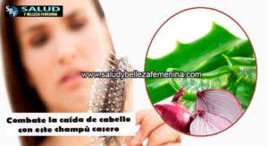 Combate la caída de cabello con este champù casero