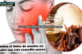 Elimina el dolor de muelas en minutos con este remedio casero