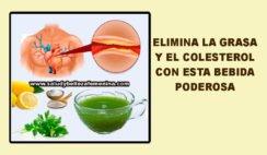 Elimina la grasa y el colesterol con esta bebida poderosa