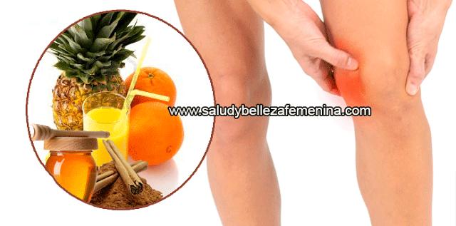 """Bebida natural para eliminar dolor de rodillas, regenerar ligamentos y tendones,Este bebida  te ayudará a regenerar los tendones y los ligamentos de las rodillas gracias a su gran contenido de un desinflamante natural presente en la piña llamado """"bromelina"""","""