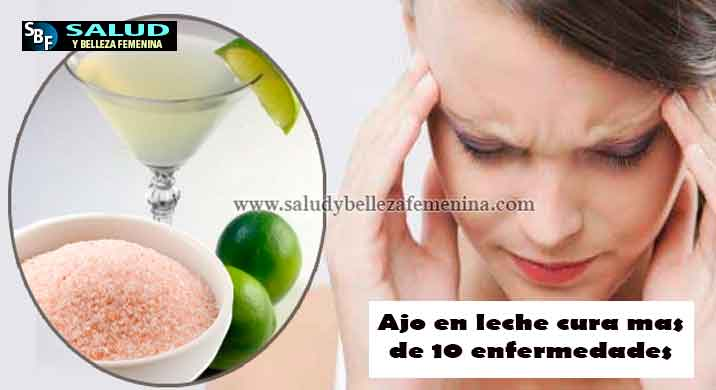 Elimina el dolor de cabeza inmediatamente con esta bebida natural