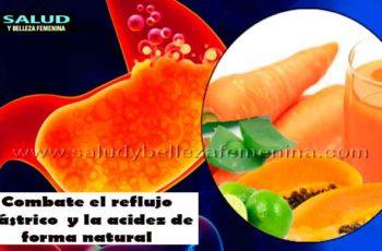 Combate el reflujo gástrico y la acidez de forma natural