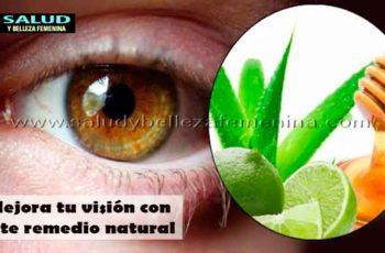 Mejora tu visión con este remedio natural