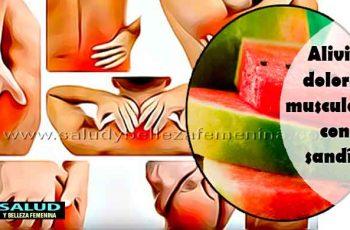 Alivia dolores musculares con sandía