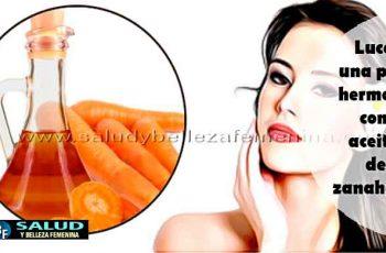 Luce una piel hermosa con aceite de zanahoria - Belleza facial