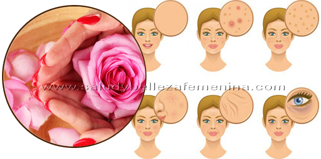 Cómo preparar   agua de rosas y sus beneficios para la piel, el agua de rosas es el líquido que se obtiene de la destilación de los pétalos de las rosas. Es muy utilizada en la preparación de productos para la belleza y el cuidado de la piel.