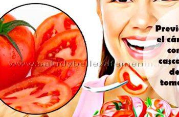 Previene el cáncer con cascara de tomate