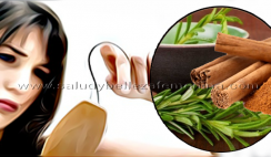 Remedio de canela y romero para detener la caída de cabello