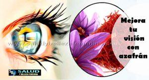 Mejora tu visión con azafrán - Remedios y tratamientos