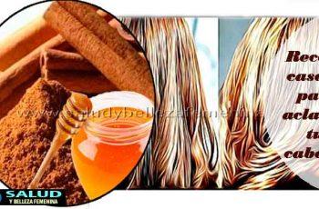 Receta casera para aclarar tu cabello