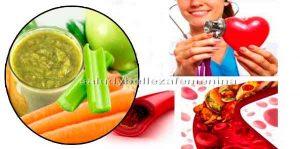 Bebida natural para bajar el colesterol y la presión alta